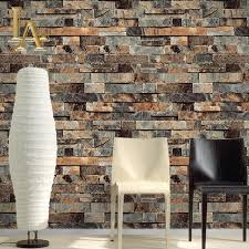 zones bedroom wallpaper: classic chinese brick walls wallpaper pvc vinyl d stone brick textures papel de parede study