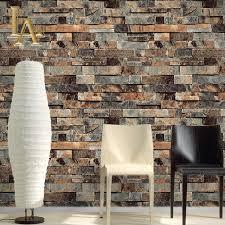 zones bedroom wallpaper: classic chinese brick walls wallpaper pvc vinyl d stone brick textures papel de parede study