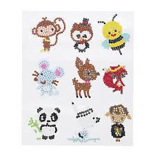 5d diy diamond painting cute animals diamond painting kits 9 pcs sea world diamond painting stickers
