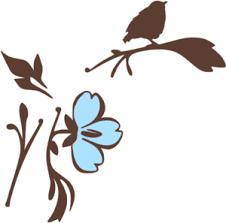 bird branch silhouette clip art.  Silhouette Bird On A Branch Silhouette Clip Art In Clker