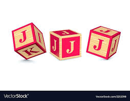 extra large wooden alphabet blocks letter j royalty free vector image wooden alphabet blocks