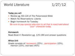 essay topics the poisonwood bible nla 2012
