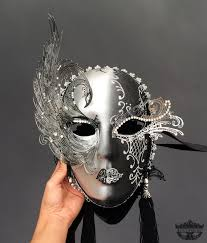 Decorative Venetian Wall Masks Masquerade Mask Mask Wall Decor Masquerade Ball Mask Black 14
