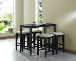 enchanting black dining room sets for small apartments perfect ideas modern decorating collection