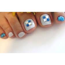 Coolな水色footnail Mua Nailムアネイルのネイルデザイン ネイル