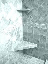 ceramic tile corner shelf shower shelves how to make a recessed