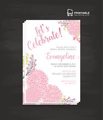 Party Rsvp Template Lets Celebrate Party Invitation Template Wedding