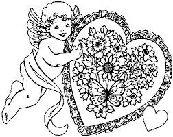 Liefde Kleurplaat Animaatjesnl