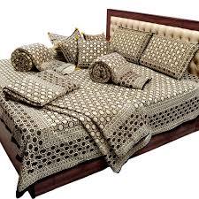 Buy Bedsheet Duvet Cushion N Two Single Bed Quilt Set Online ... & Buy Bedsheet Duvet Cushion N Two Single Bed Quilt Set online Adamdwight.com