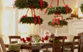 hanging christmas wreaths for holiday decor