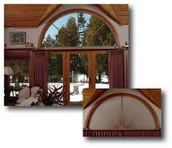 arched window treatments. Moveable Arch Window Treatments For Half And Quarter Circle Arched Windows