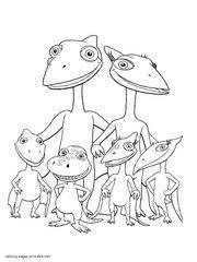 Search through 52183 colorings, dot to dots, tutorials and silhouettes. 108 Dinosaur Train Coloring Pages Free Printable Pictures