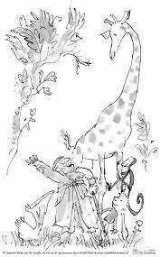 Roald Dahl Kleurplaten Van Quentin Blake