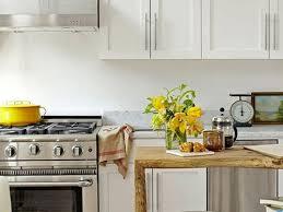 small kitchen look bigger