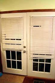 french door with blinds fabulous doors built in broken sliding fr pella storm