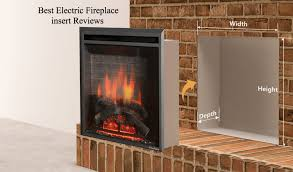 best electric fireplace insert top reviews and guide wood vintage mantel double sided gas with blower refacing brick stone veneer zero clearance stand