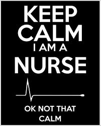 How To Make A Keep Calm Poster Keep Calm Im A Nurse Ok Not That Calm Poster
