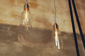 Diy Tutorial Diy Lamp Van Glazen Sapfles