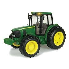 john deere 1 16 scale big farm lights n sounds 7330 tractor tomy toys r us