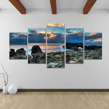 Contemporary Decoration Canvas Wall Art Shop For Bruce Bain Sun Rise 5 Piece  Get Free