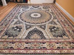 details about silk persian rugs 8x10 hand knotted fringes 5x8 traditional rug 2x8 runner