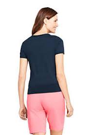 Women's Supima Cotton <b>Short Sleeve</b> Crewneck Sweater | Lands' <b>End</b>