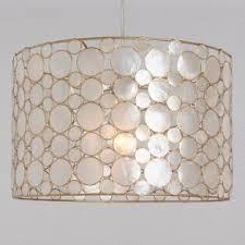 Chandelier pendant lighting Hanging White Capiz And Gold Mariana Drum Pendant Lamp World Market Pendant Lighting Light Fixtures Chandeliers World Market