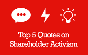 Activism Quotes Stunning Top 48 Shareholder Activism Quotes Carried Interest