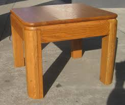 oak end tables. SOLD - Pair Of Oak End Tables $45 (pair)