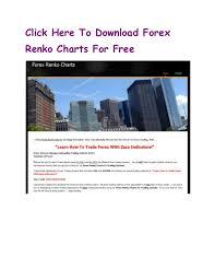 Free Forex Renko Charts Online Forex Trading With Renko Charts Online Renko Forex Charts