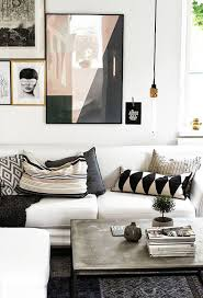 40 Black And White Living Room Ideas Decoholic Simple White Modern Living Room Ideas