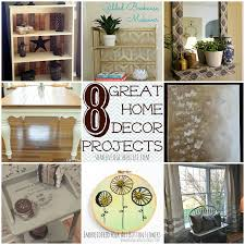 so check out these eight home decor projects to update your home for spring book cases curtains wall art and more