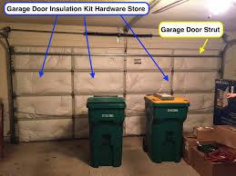 garage door guiding torsion spring together with