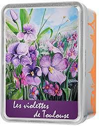 Giandujas coffret Violettes de Toulouse 100g: Amazon.fr: Epicerie