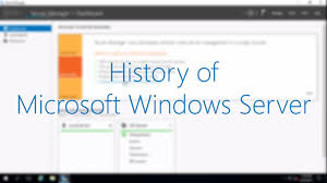 What Is Microsoft Windows Server Os Operating System