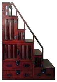 japanese furniture plans 2. Exellent Plans Home Improvement Tansu Step Chest Furniture 1 Antique 2 Section Stair Plans  For Japanese