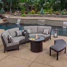 outdoor patio fire pits sets