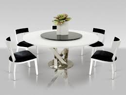 dining room table 6 modern round dining table set glass dinette sets modern dining table set