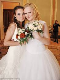 Marriage russian lesbian couple irina