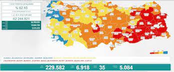 BİR GÜNDE 6 BİN 918 YENİ VAKA - Sakarya Yerel Haber