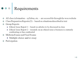 business ethics manolete gonzalez ppt requirements multiple choice and or essay