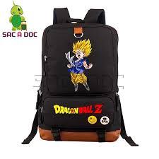 Anime Dragon Ball School Backpack <b>Super</b> Saiyan <b>Goku</b> Vegeta ...