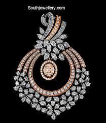 simple diamond pendant by krishna