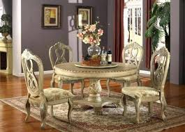 round wood dining table set dark awesome antique white room sets throughout wooden designs home design