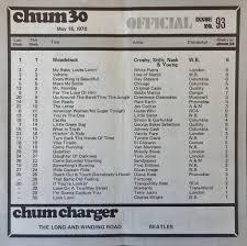 1050 Chum Chart May 16 1970 The 1050 Chum Charts Were Pr