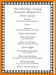 Dinner Program Templates Award Program Template Awards Banquet Program Template Programs