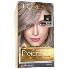 superior preference fade defying shine permanent hair color soft silver blonde