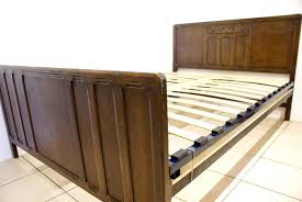 119 previous next adjule slatted bed base antique british
