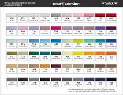 Wonderfil Thread Charts Wonderfil Invisafil Premium Fine Thread Creative Feet