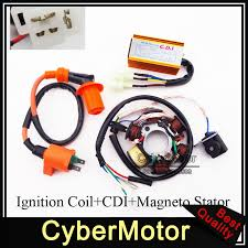 compare prices on magneto stator online shopping buy low price racing ignition coil magneto stator 6 pins wires ac cdi box for chinese atv go kart
